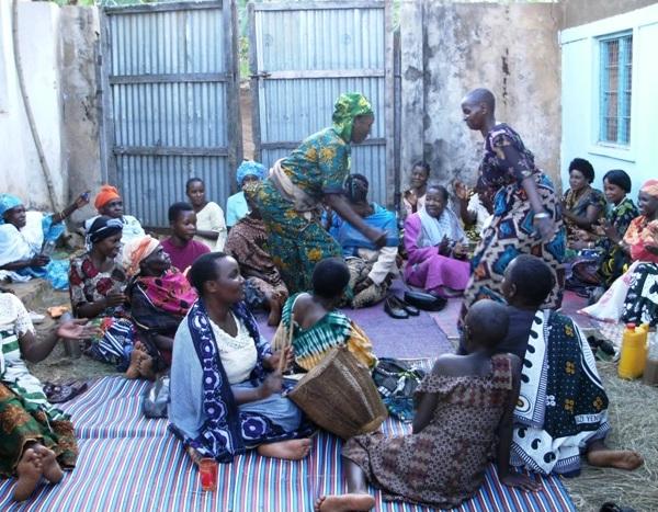 Bukoba women dancing
