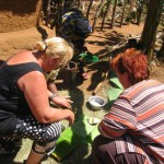 Learning to cook Kagera local food